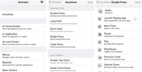 activator 2 500x252 Cydia : Activator est désormais compatible iOS 9.3.3 !