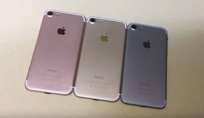 iPhone 7 or rose gris noir [Vidéo] iPhone 7 : les modèles Or, Rose Or et Gris (ou Noir) sidéral