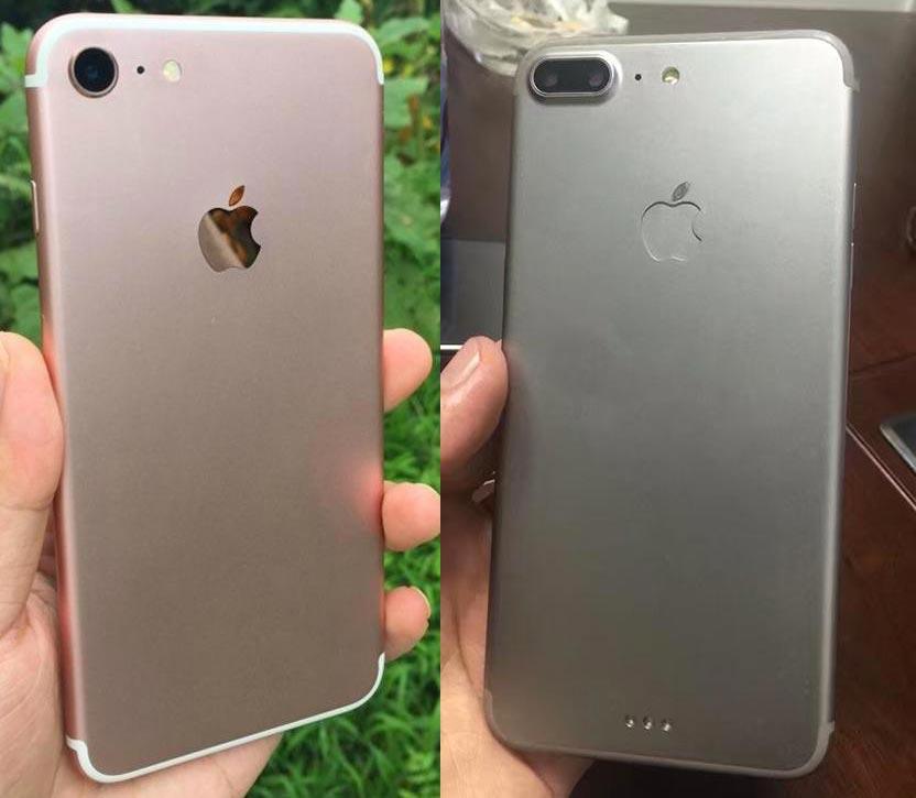 iPhone 7 vs iPhone 7Plus Pro iPhone 7 / iPhone 7 Plus : nouvelles séries de photos !