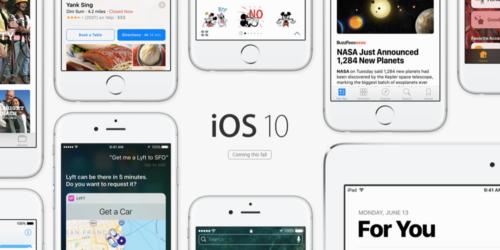 ios 10 500x250 [DOSSIER] iPhone 7 : date de sortie, prix et fonctionnalités