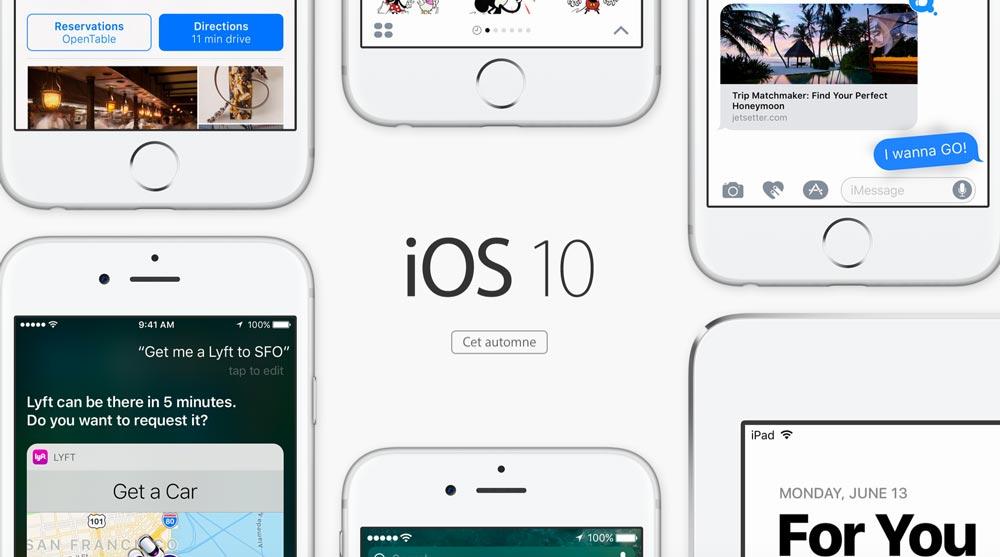 ios 10 fr Apple présente iOS 10 et macOS Sierra en français