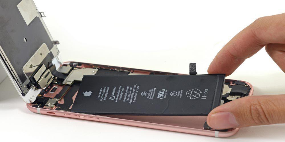 iphone 6s batterie 1000x500 Le remplacement de la batterie défectueuse de son iPhone peut se faire immédiatement