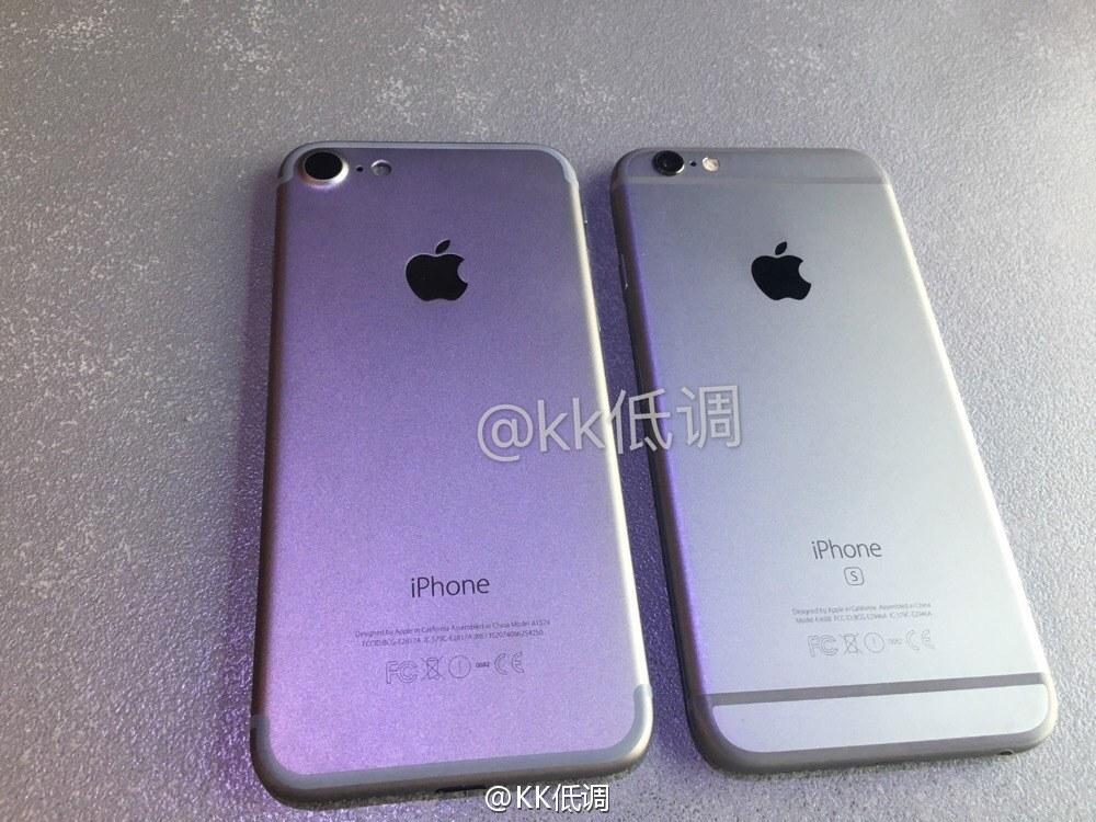 iphone 7 vs iphone 6s 05 iPhone 7 : vidéos et photos dun modèle original ?