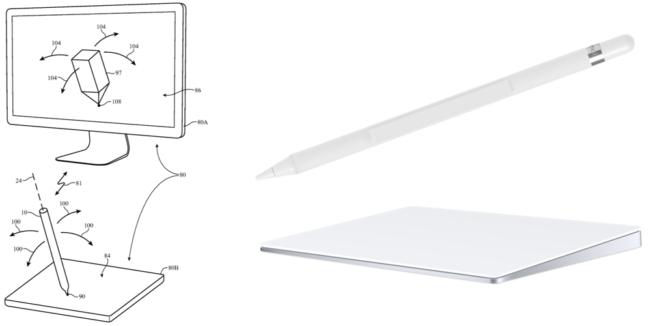 mac apple pencil e1469549582370 Mac : un brevet validé pour lApple Pencil !