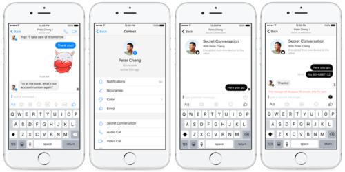 secret conversations 500x250 Facebook teste actuellement les Secret Conversations pour Messenger