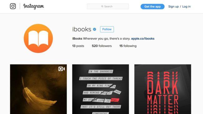 apple ibooks e1470042464322 Un compte Instagram iBooks pour la sortie dHarry Potter !