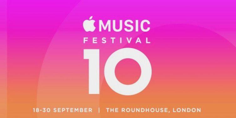 apple music festival 754x377 Apple Music Festival : rendez vous à Londres le 18/09/2016 !