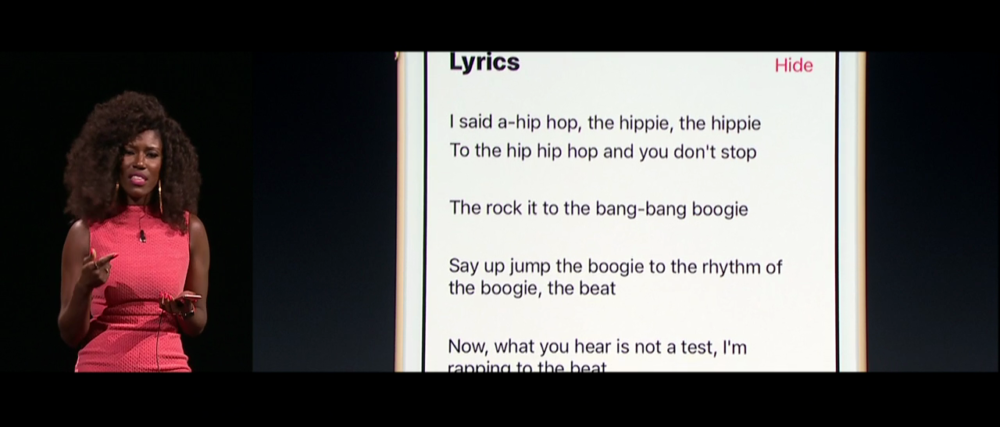 apple music paroles e1471421305803 Apple Music : Apple recherche un spécialiste des lyrics