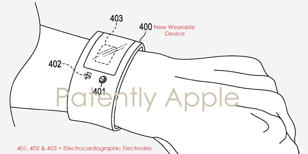 ecg portable Apple dépose un brevet pour un électrocardiographe portable !
