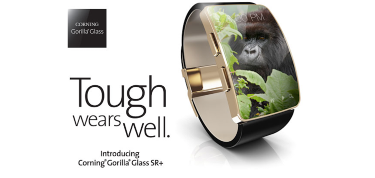gorill glass sr  754x359 Corning Glass SR+ : un nouveau verre pour protéger lApple Watch ?