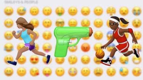 ios 10 emojis 500x281 iOS 10 : plus de 100 nouveaux Emojis à découvrir en images !