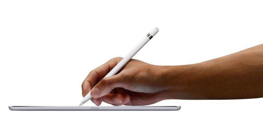 ipad pro apple pencil e1472542533945 Brevet : une possible compatibilité entre lApple Pencil et liPhone