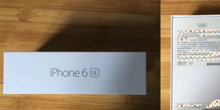iphone 6se 754x377 iPhone 6SE : un packaging suspect apparaît sur la toile