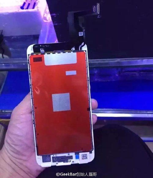 iphone 7 ecran 500x580 [DOSSIER] iPhone 7 : date de sortie, prix et fonctionnalités