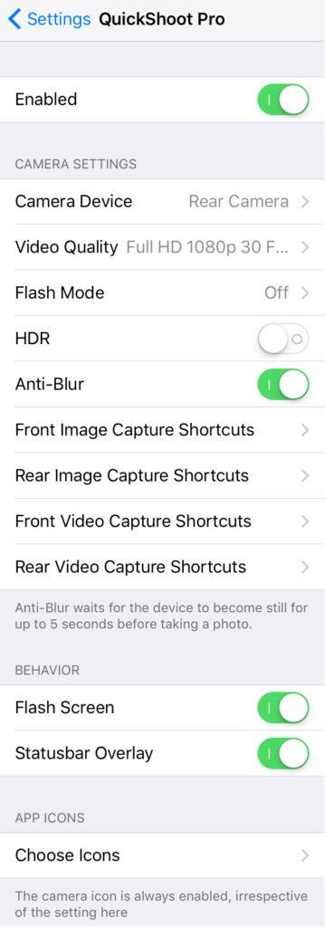 quickshoot 3 [Cydia] QuickShoot Pro 3 : utilisez la caméra à tout moment !