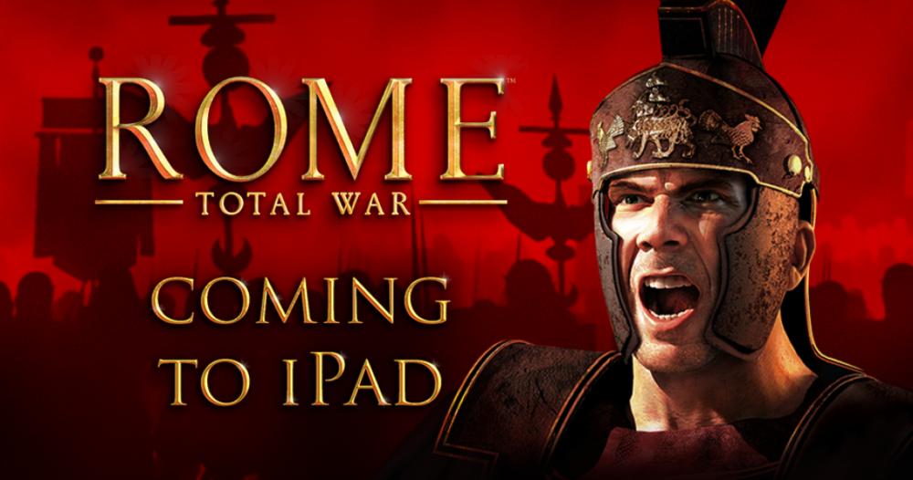 rome total war e1471013536535 [Vidéo] Rome : Total War bientôt sur iPad !