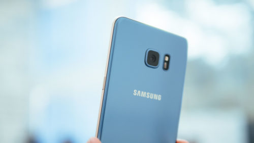 samsung galaxy note 7 corail 500x281 iPhone 7 : Samsung troll Apple sur le retrait de la prise Jack !