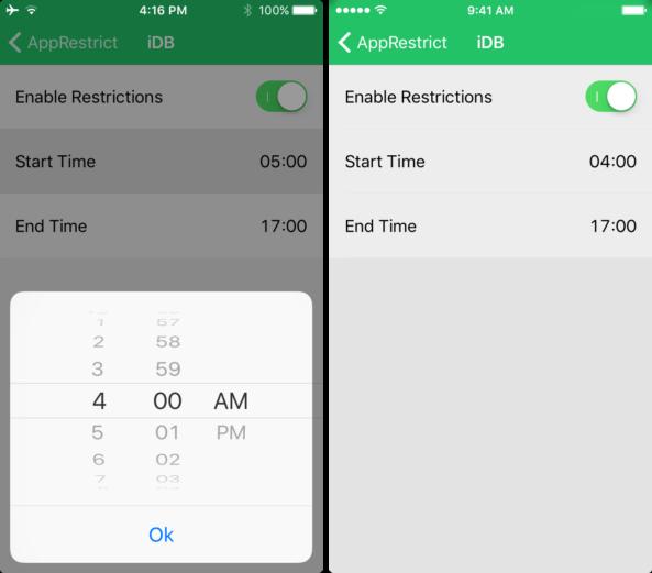 apprestrict [Cydia] AppRestrict : limiter le temps dutilisation des applications iOS