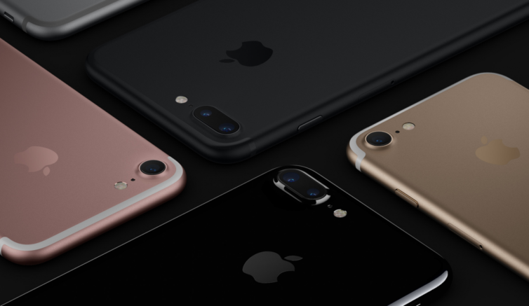 iphone 7 coloris 754x437 iPhone 7 : AnTuTu confirme la puissance suprême du smartphone