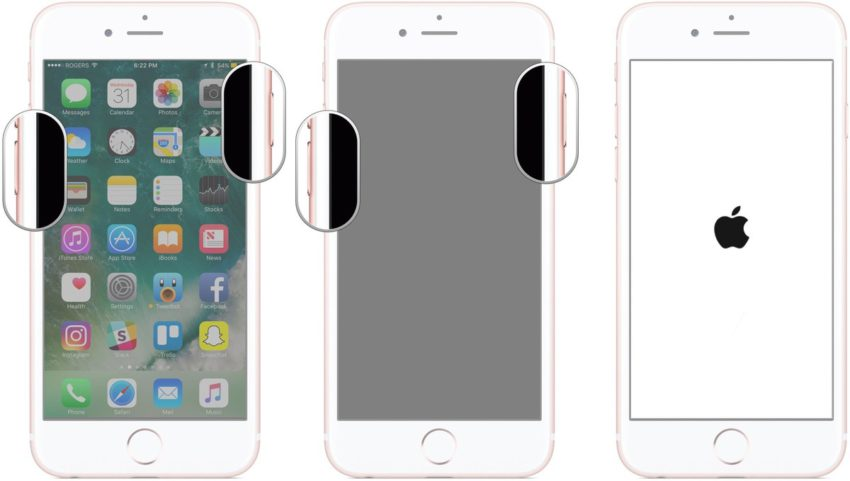 iphone 7 forcer redemarrage Comment mettre son iPhone 7 & iPhone 7 Plus en mode DFU