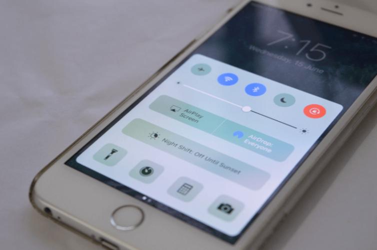 panneaux centre controle 754x501 [Tutoriel] iOS 10 : utiliser les nouvelles fonctionnalités Lock Screen et Home Screen
