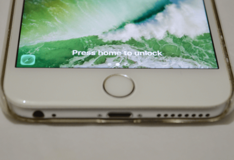 press home unlock 754x517 [Tutoriel] iOS 10 : utiliser les nouvelles fonctionnalités Lock Screen et Home Screen