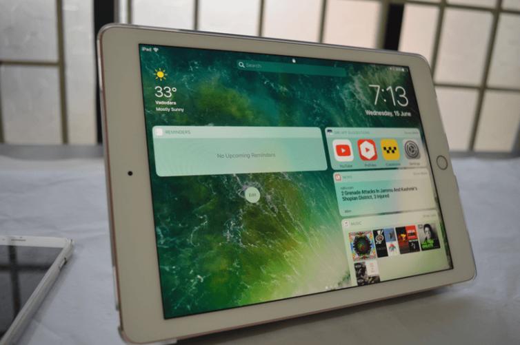 split view ipad 754x501 [Tutoriel] iOS 10 : utiliser les nouvelles fonctionnalités Lock Screen et Home Screen