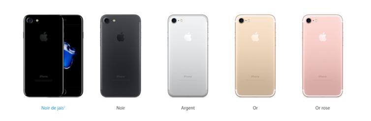 iphone 7 iphone 7 plus les prix officiels d voil s par apple appsystem. Black Bedroom Furniture Sets. Home Design Ideas
