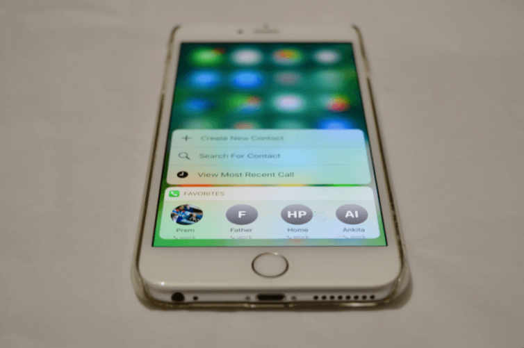 widgets quick actions 754x501 [Tutoriel] iOS 10 : utiliser les nouvelles fonctionnalités Lock Screen et Home Screen
