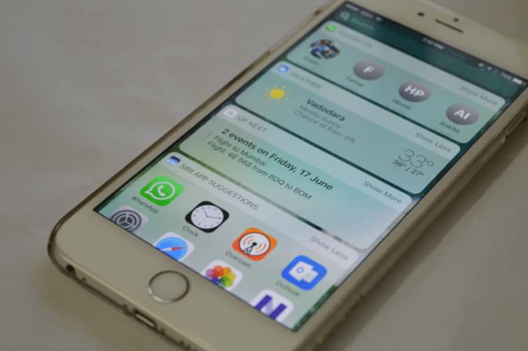 widgets today view 754x501 [Tutoriel] iOS 10 : utiliser les nouvelles fonctionnalités Lock Screen et Home Screen