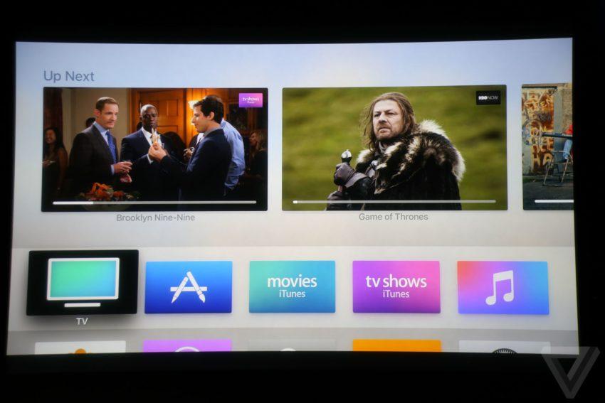 apple tv 2 850x567 Bilan keynote : Apple TV, MacBook Pro, Touch Bar