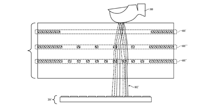 brevet iphone 8 e1475589986322 iPhone 8 : Touch ID intégré sur tout lécran ?