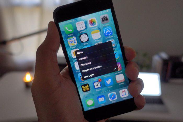 dark mode 700x466 Actu, astuces et tuto iPhone 7, 6s, iPad et Apple Watch   AppSystem.fr