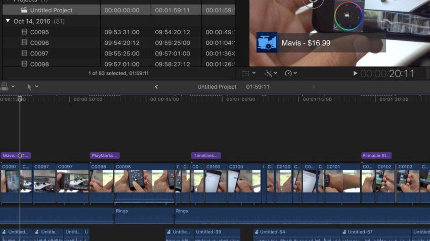 final cut pro 10 3 850x478 [Vidéo] Final Cut Pro X 10.3 : top 10 des nouveautés