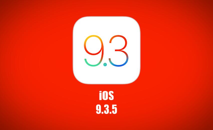 ios 9 3 5 850x519 iOS 9.3.5 et iOS 10.0.1 ne sont plus signés par Apple
