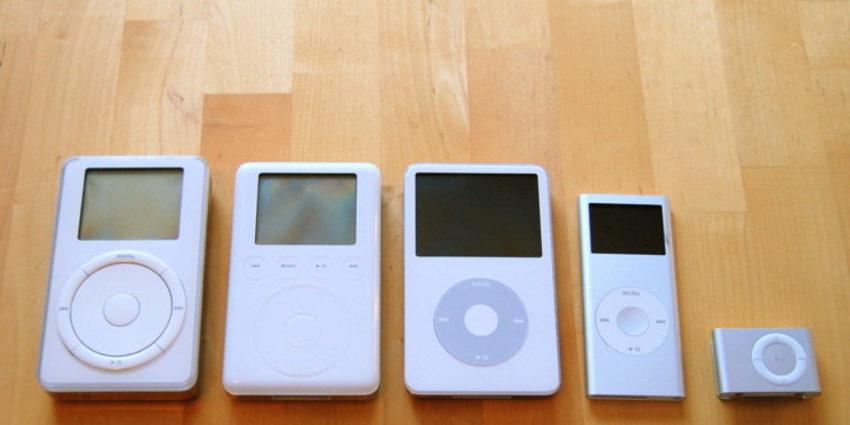 ipod 850x425 iPod : 15 ans de règne sur le marché du balladeur