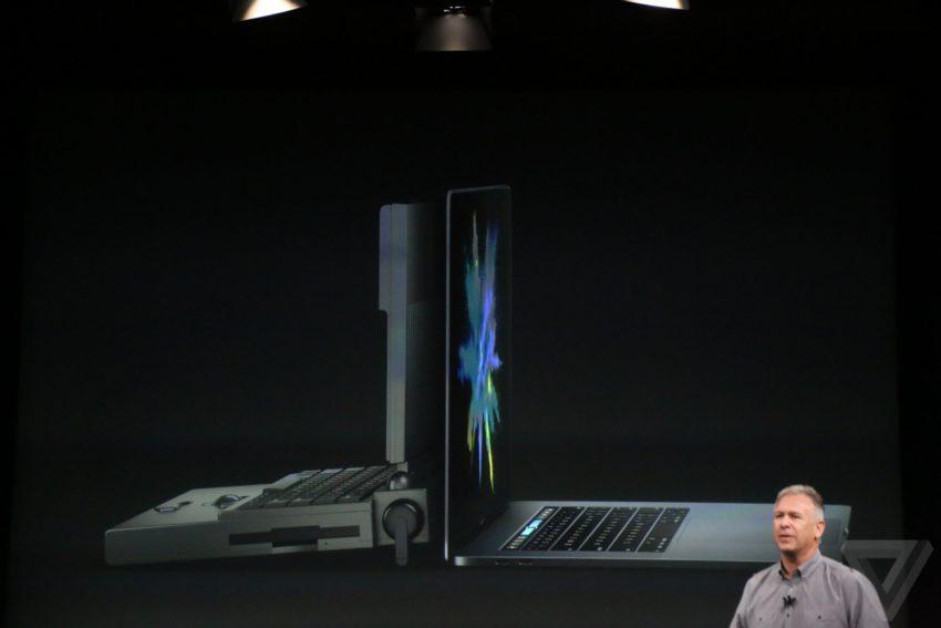 macbook pro vs superbook 850x567 Bilan keynote : Apple TV, MacBook Pro, Touch Bar