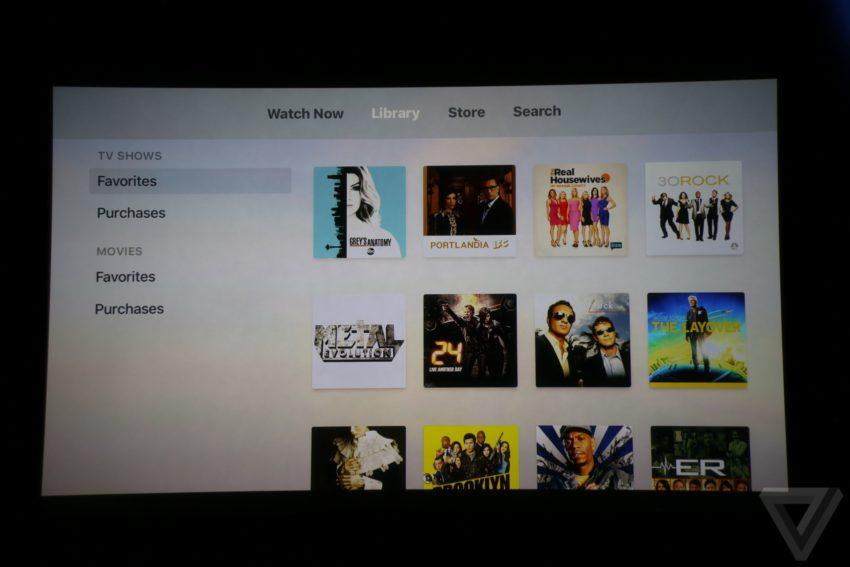 tv categories 850x567 TV : le programme télé interactif de lApple TV