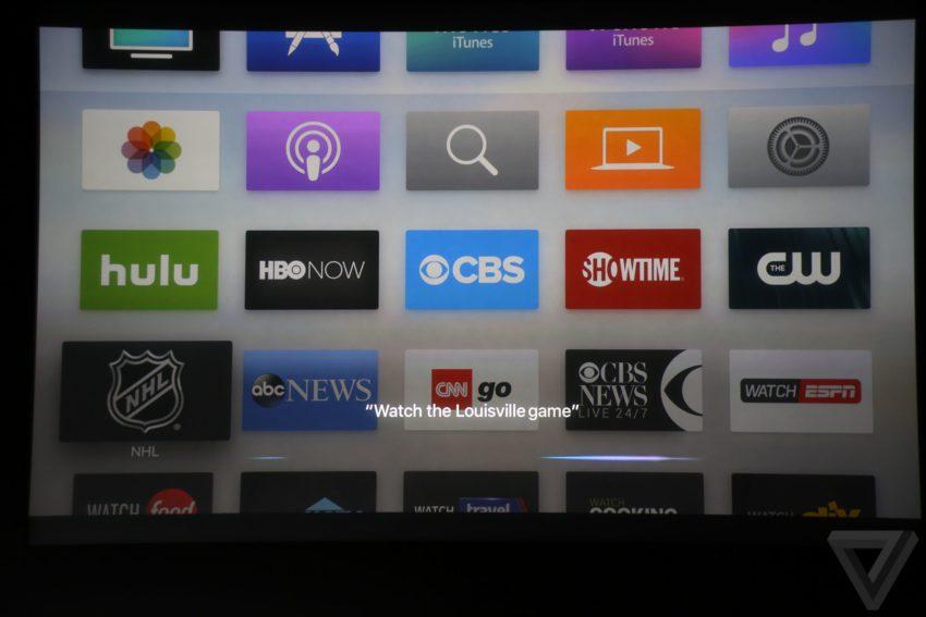 tv siri 850x567 TV : le programme télé interactif de lApple TV