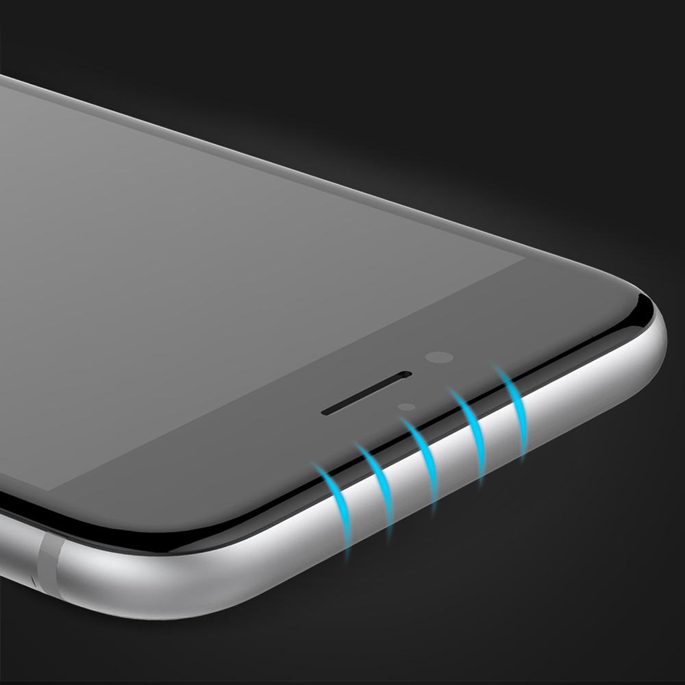 1 6 Protection décran iPhone 7 / 7 Plus intégrale 3D incurvée (ShopSystem)