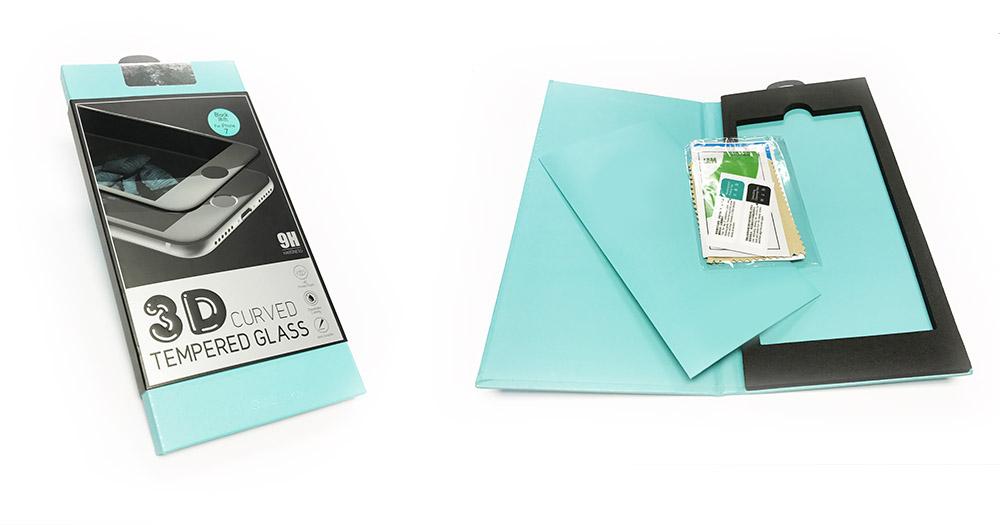 1 Protection décran iPhone 7 / 7 Plus intégrale 3D incurvée (ShopSystem)