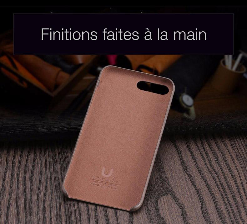 2 1 Coque en cuir pour iPhone 7 et 7 Plus (ShopSystem)