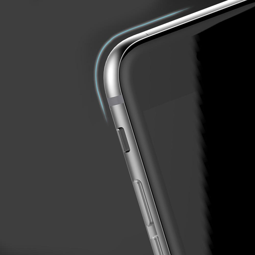 2 4 Protection décran iPhone 7 / 7 Plus intégrale 3D incurvée (ShopSystem)