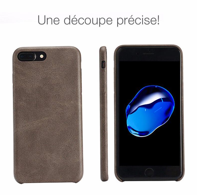 3 1 Coque en cuir pour iPhone 7 et 7 Plus (ShopSystem)