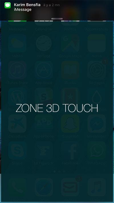 3d touch NotificationPop ajoute un geste 3D Touch aux notifications iOS (tweak cydia)