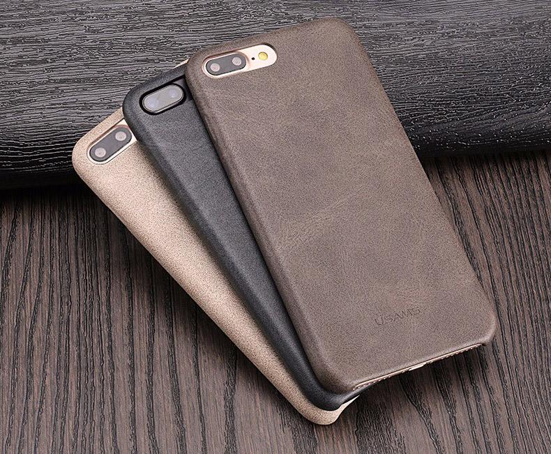 7 Coque en cuir pour iPhone 7 et 7 Plus (ShopSystem)