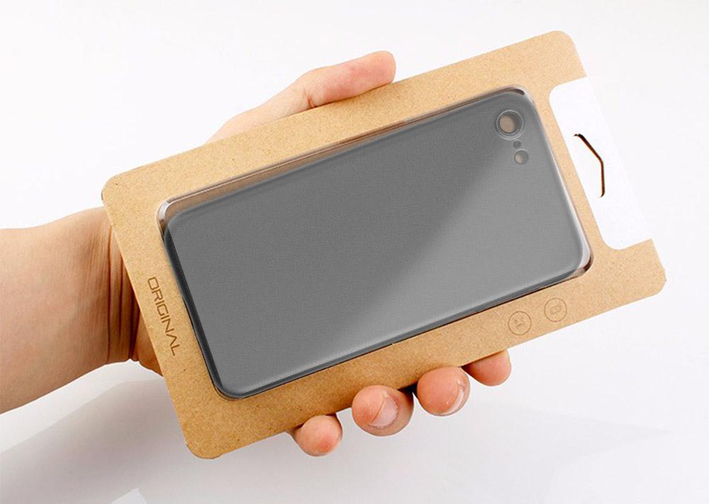 box Coque iPhone 7 et 7 Plus : Nouvelle génération 0.35mm ultra fine