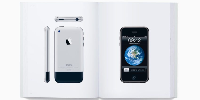 designed by apple 850x425 Designed by Apple in California : Apple sort un livre à 300 $