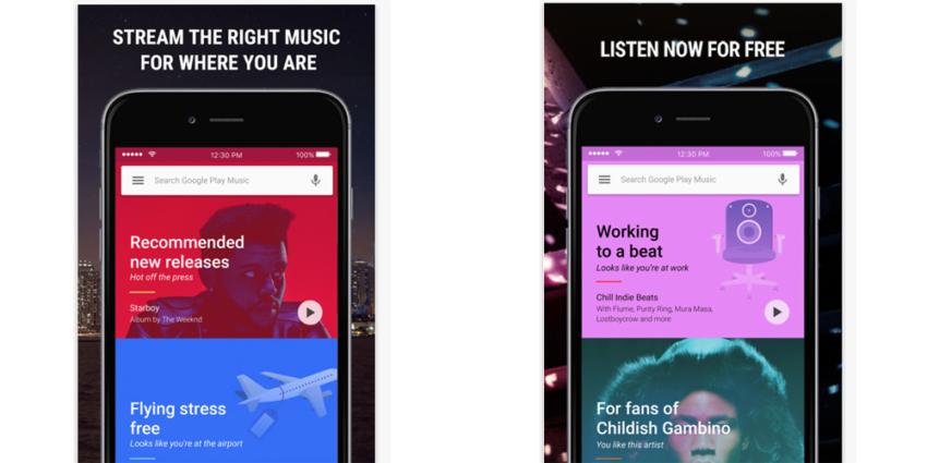 google play music 850x425 Google Play Music : une mise à jour pour contrer Apple Music