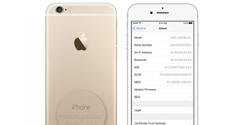 iphone numero erie 850x425 [Màj] Programme de remplacement de batteries : vérifier si son iPhone 6s est éligible